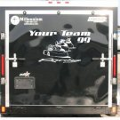 Go Cart Racing Enclosed Trailer Custom Vinyl Sticker Decal Graphics FREE SHIPPING!