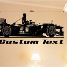 Formula Racing Auto Car Vinyl Wall Art Sticker Decal