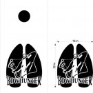 Bow Hunter Hunting Cornhole Decals Stickers BH1
