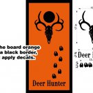 SPECIAL FREE SHIPPING Cornhole Board Decals Deer Buck Hunting Stickers HF43