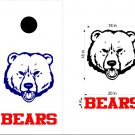 Bears Cornhole Board Decals Stickers Sports Teams Mascots