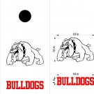 Bulldogs Cornhole Board Decals Stickers Sports Teams Mascots 2