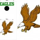 Eagles Cornhole Board Decals Stickers Sports Teams Mascots