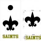 Saints Cornhole Board Decals Stickers Sports Teams Mascots