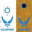 Air force Service Cornhole Board Decals Stickers Graphics Wraps