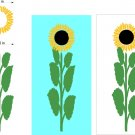 Sunflower Cornhole Board Decals Stickers Graphics Wraps Bean Bag Toss Baggo
