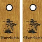 Geese Duck Hunting Cornhole Board Decals Stickers Graphics Wraps Bean Bag Toss Baggo
