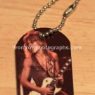 """Randy Rhoads Concert Photo Dog Tag with 3"""" or 30"""" Chain"""