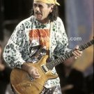 "Guitarist Carlos Santana 8""x10"" Color Concert Photo"