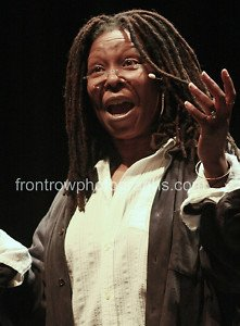 "Whoopi Goldberg Color 8""x10"" Concert Photograph"