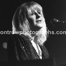 "Fleetwood Mac Singer Christine McVie 8""x10"" BW Concert Photo"