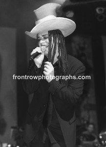 """Culture Club Boy George 8""""x10"""" BW Concert Photo"""