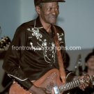 """Musician Clarence """"Gatemouth"""" Brown 8""""x10"""" Color Concert Photo"""