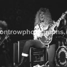 "Blue Murder Guitarist John Sykes 8""x10"" BW Concert Photo"