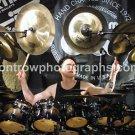 "Drummer Terry Bozzio 8""x10"" Color Drum Clinic Photo"