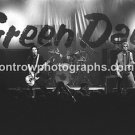"""Green Day Band 8""""x10"""" BW Concert Photo"""