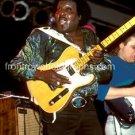 "Guitarist Albert Collins 8""x10"" Color Concert Photo"