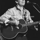 "Musician John Hiatt 8""x10"" BW Concert Photo"