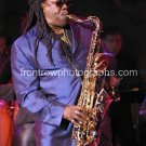"""Clarence Clemmons Color 8""""x10"""" Concert Photo"""