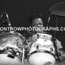 "Drummer Buddy Miles 8""x10"" BW Concert Photo"