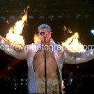 """Rammstein Singer Till Lindemann 8""""x10"""" Color Concert Photo"""