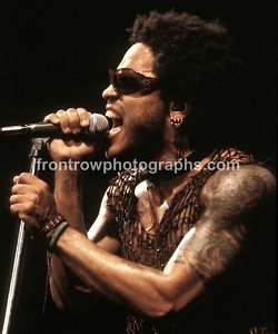 "Lenny Kravitz 8""x10"" Color Concert Photo"