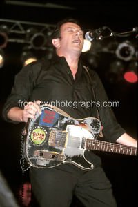 "The Clash Guitarist Joe Strummer 8""x10"" Color Concert Photo"