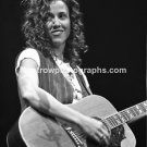 "Musician Sheryl Crow 8""x10"" Black & White Concert Photo"