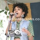 "Singer Alsarah & The Nubatones 8""x10"" Color Concert Photo"