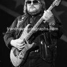 "Lynyrd Skynyrd Guitarist Ed King-Rossington 8""x10"" BW Concert Photo"