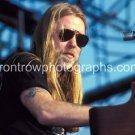 """Allman Brothers Singer Gregg Allman 8""""x10"""" Color Concert Photo"""