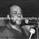 "Harmonica Player James Cotton 8""x10"" BW Concert Photo"