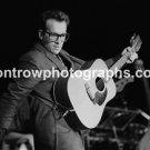 "Musician Elvis Costello 8""x10"" Black & White Concert Photo"