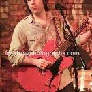"""Guitarist Chris Bergson 8""""x10"""" Color Concert Photo"""