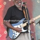 Holmes Brothers Guitarist Wendell Holmes 8x10 Color Concert Photo