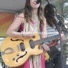 "Musician Nicole Atkins 8""x10"" Color Concert Photo"