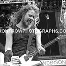 """Metallica Singer James Hetfield 8""""x10"""" BW Concert Photo"""