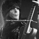 Motley Crue Guitarist Mick Mars 8x10 BW Concert Photo