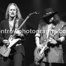 "Lynyrd Skynyrd Guitarists Rickey Medlocke & Gary Rossington 8""x10"" Concert Photo"
