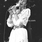 "Singer Crystal Gayle 8""x10"" BW Concert Photo"