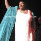 "Aretha Franklin 8""x10"" Color Concert Photo"