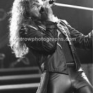 "Europe Joey Tempest 8""x10"" BW Concert Photo"