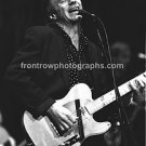 "Musician Dave Edmunds 8""x10"" BW Concert Photo"