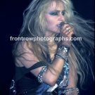 "Warlock Singer Doro Pesch 8""x10"" Color Concert Photo"