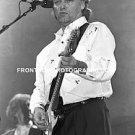 "Pink Floyd Guitarist David Gilmour 8""x10"" BW Concert Photo"