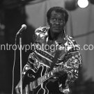 "Chuck Berry Black & White 8""x10"" Concert Photo"