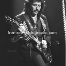"Black Sabbath Tony Iommi 8""x10"" BW Concert Photo"