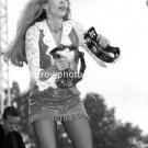 "Singer Carlene Carter 8""x10 Black & White Concert Photo"
