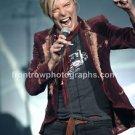"""Singer David Bowie 8""""x10"""" Color Concert Photo"""