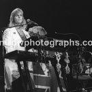 "Musician Linda McCartney 8""x10"" BW Concert Photo"